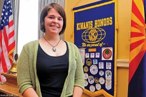 Aid worker and hostage Kayla Mueller, reportedly killed in a coalition airstrike in Syria, February 6th 2015.