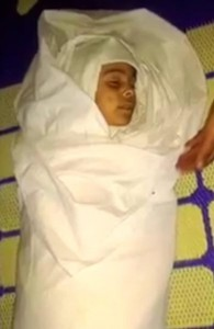 Badr al Nakas' neiece, the only named victim of a Coalition strike on May 20th (via SN4HR)