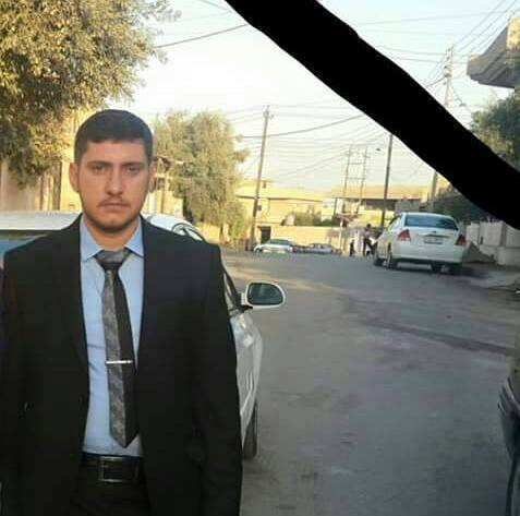 Waiter Muhannad Hisham, killed in a US airstrike on Mosul July 17 2015 (via Mosul Ateka)