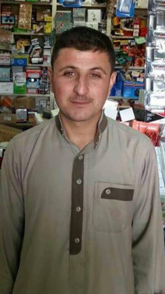 Jamal Raheem Uda Al-Kubeisi, killed in an alleged Coalition strike at ar Rutbah, August 6 2015 (via eulogy page)
