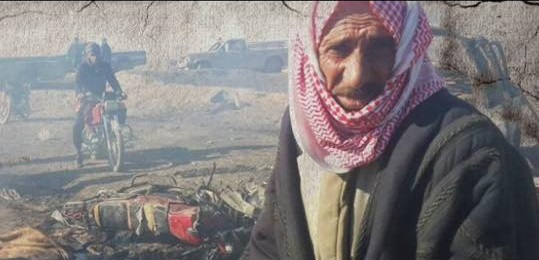 Ibrahim al Mussul, a shepherd killed with his two daughters Jozah and Zahra in a reported US airstrike on his home, February 2nd 2015 (Syrian Network for Human Rights)