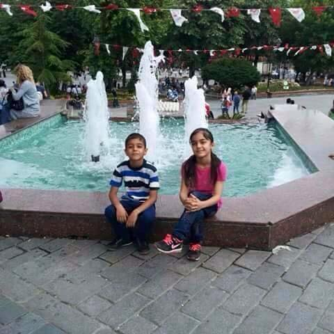 The Al Fandi children (via Mosul Ateka)