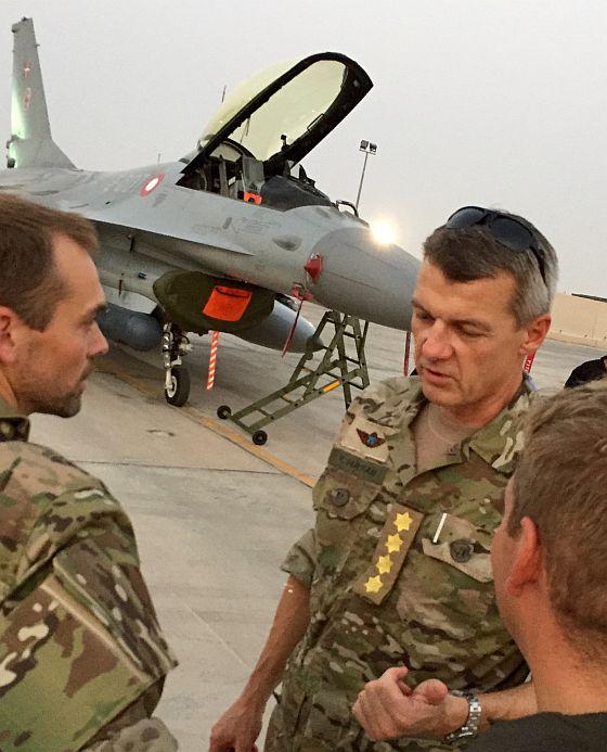 fighter jet denmark