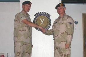 Lt Colonel Gert Strick in Irbil (Dutch MoD)
