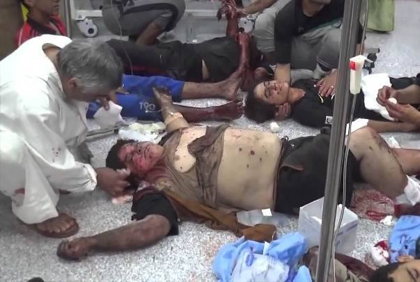 Family of five killed in a reported Coalition strike December 10 (via )
