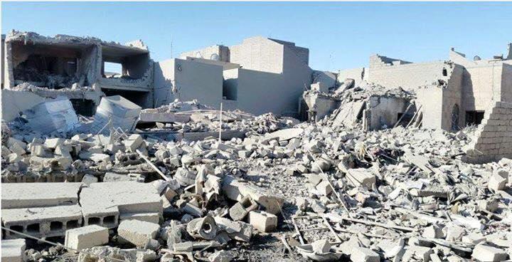 Aftermath of alleged Coalition strike on Ramadi December 3rd (Al Anbar Motny)