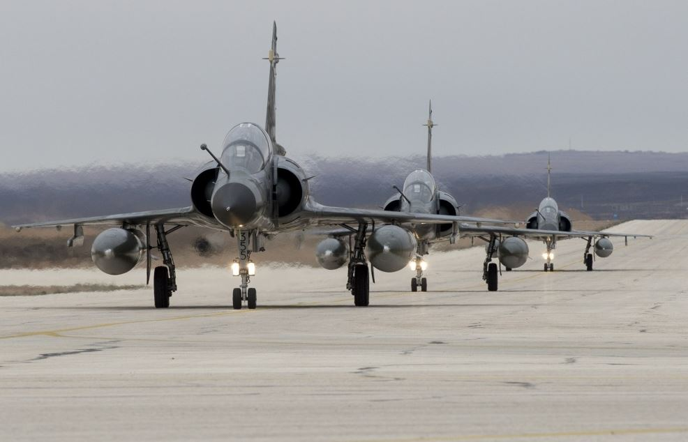 France rotated in three Mirage 2000-Ns to Jordan on December 5th (Ministère de la Défense)