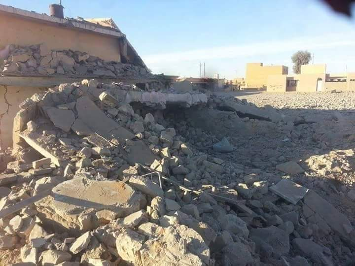Ar Rutbah, February 18 2016 - where up to 26 civilians were killed in alleged Coalition strike