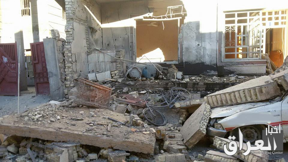 One civilian died and seven were injured in a February 20 strike near Fallujah by unidentified aircraft (via Iraq News)