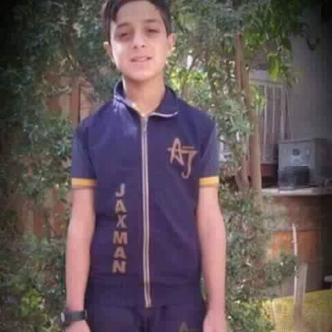 One of two boys reportedly killed in an alleged Coalityion strike at Al Qaim on September 15th-16th 2016 (via news of Iraq)