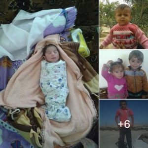 Some of the children reported killed in the Tokhaz event (via Manbij Direct)