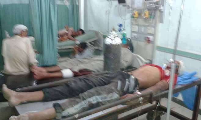 Bodies in a medical facility following alleged Coalition strikes on Fallujah, June 15th (via AlFalujahNews)
