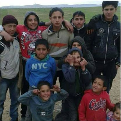 Reported child victims of a Coalition strike near Manbij June 3 2016 (via Manbij Mother of the World)
