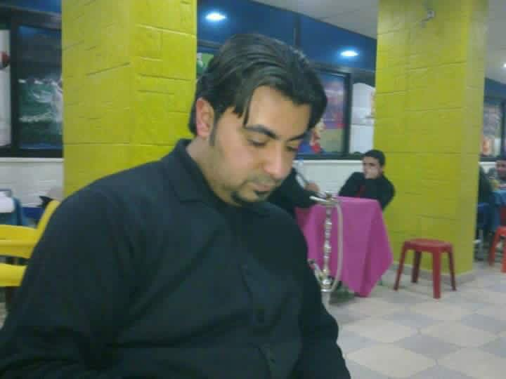 Yasser al Habish, who died when warplanes struck a coach traveling from Raqqa to Damascus, March 11/12th (via RBSS)
