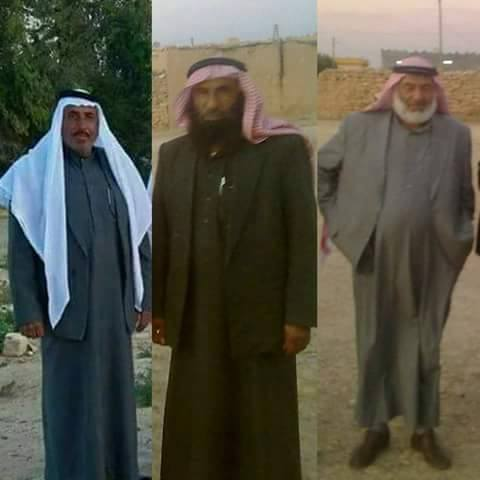 Mahmoud al Kader, Mohammad al Rudaini, and Mohammad al Atra (via Raqqa is Being SlaughteredSilently)