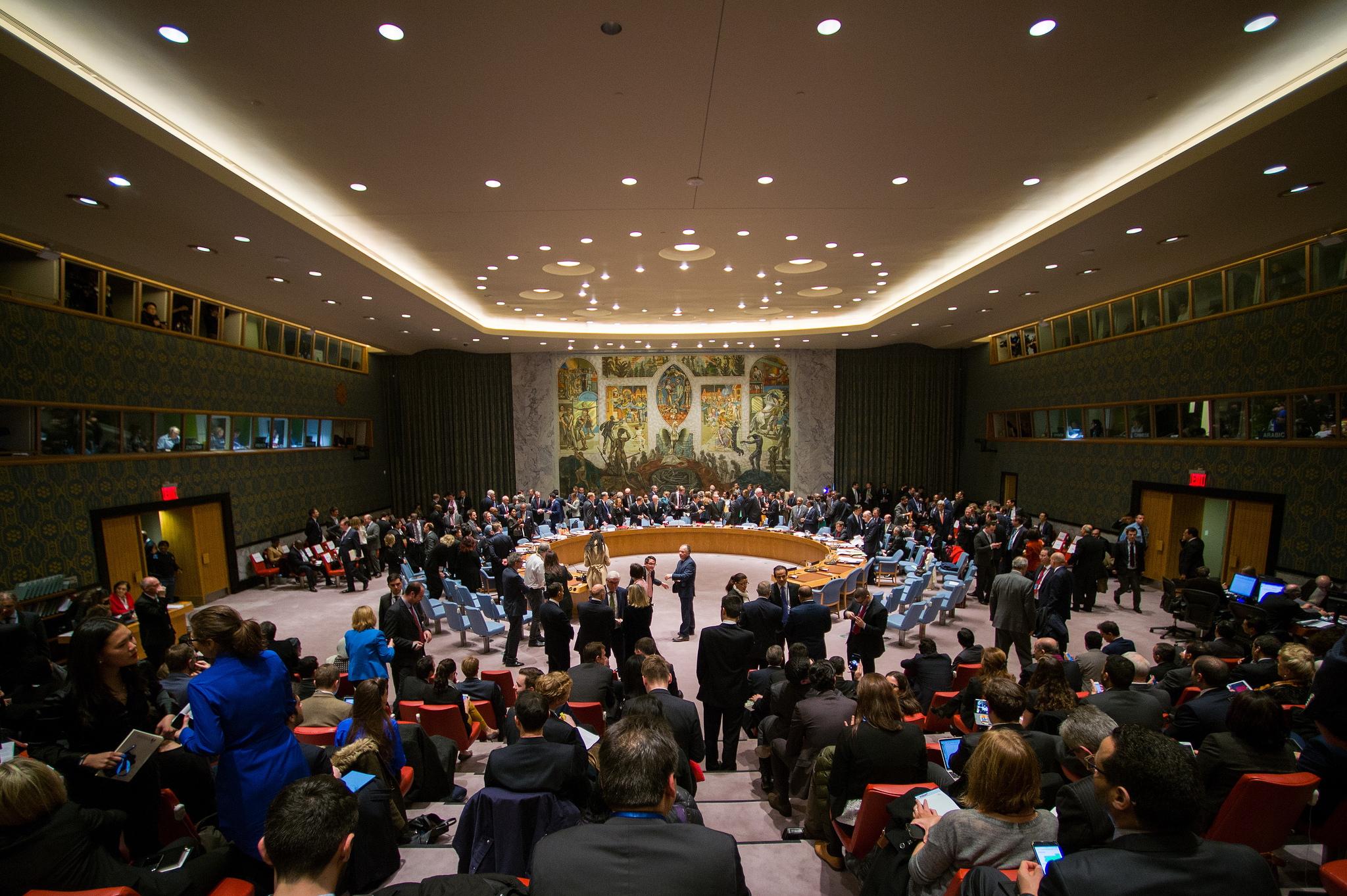 UN Security Council meeting on Syria, December 18th 2015 (US State Department)