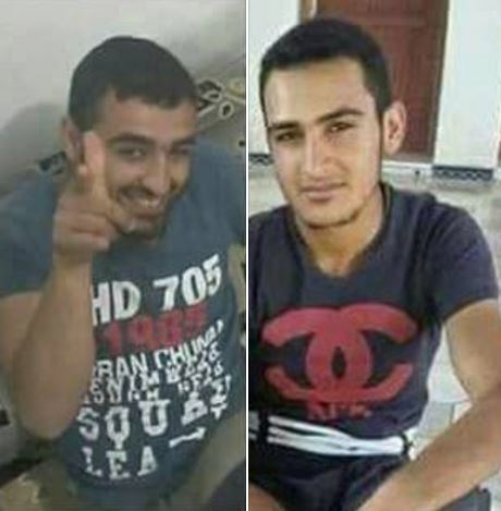 Ahmad Sharif al Sakhir and his brother Hussein Sharif al Sakhir (via Raqqa is Being Slaughtered)