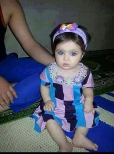 3-year old Isra, reported killed in a Coalition airstrike Febvruary 15th 2017