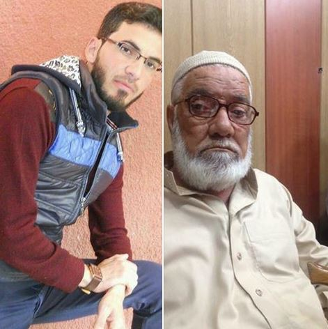 Mayser and his father (via Mosul Ateka)
