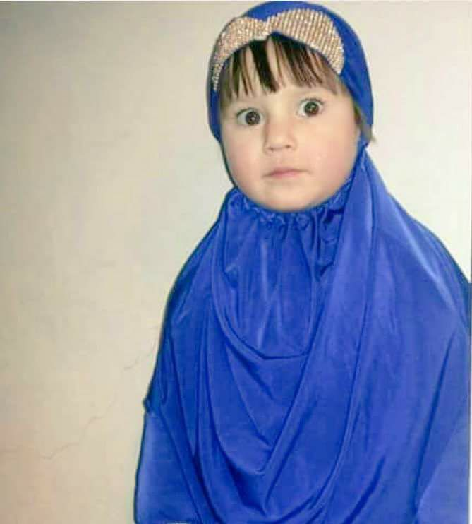 Rimas Mohammad Mirwah, aged three, killed in an airstrike on a bakery in Raqqa, Jan12/13th (via RBSS)