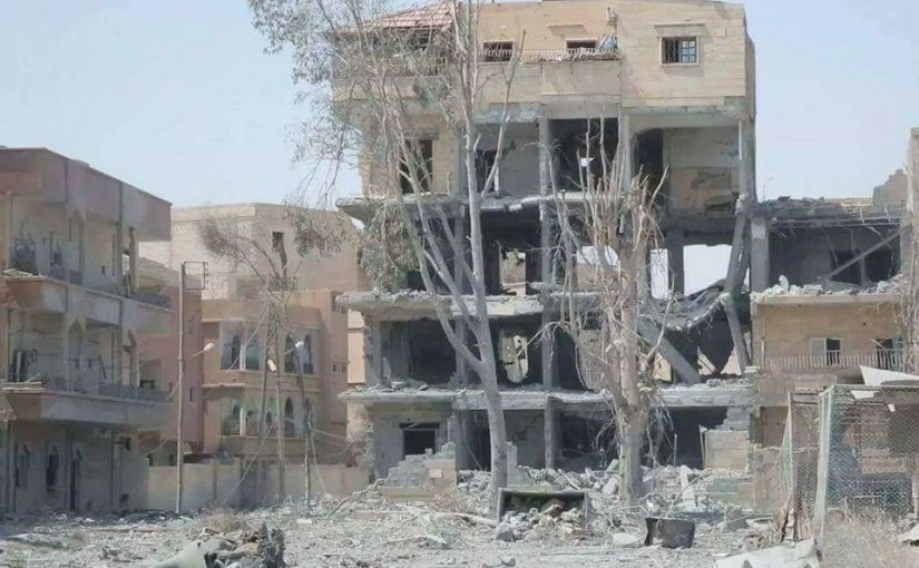 Intensity of Coalition's Raqqa bombardment greater than for all of Afghanistan, official data shows