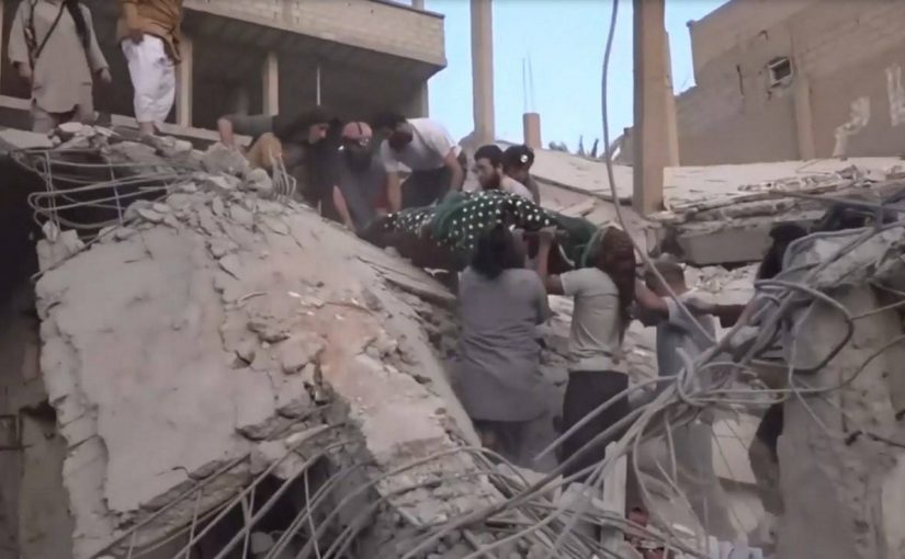 Russia blamed for sharp rise in civilian deaths during battle for Deir Ezzor